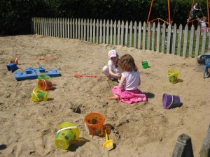Children's Playground including Sand Pits